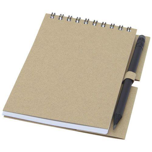 Luciano Eco -kierremuistikirja ja kynä – pieni