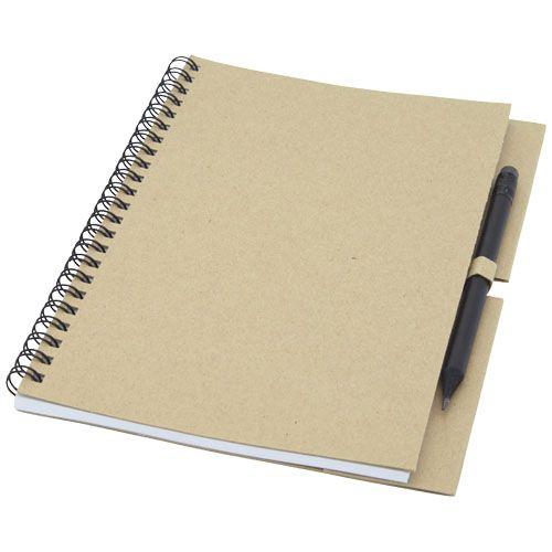 Luciano Eco -muistikirja ja kynä – keskikokoinen