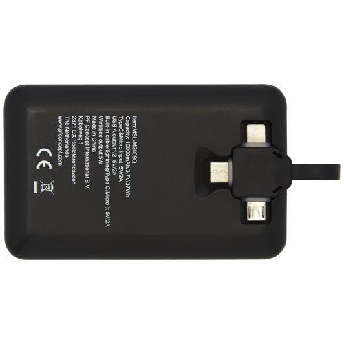 Batterie de secours sans fil Kano, 10,000mAh, avec câble 3-en-1