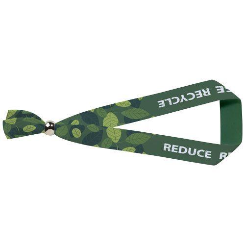 Bracelet de festival Evi en PET recyclé avec fermoir métallique