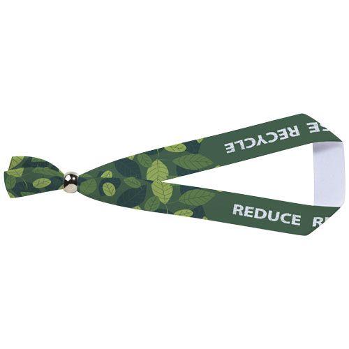 Bracelet métallique Eek en PET recyclé avec sublimation