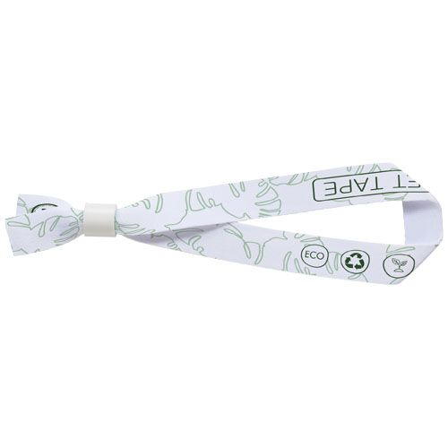 Bracelet Et en PET recyclé avec sublimation 1face   PHOSPHORESCENCE 267, rue François Perrin par PHOSPHORESCENCE