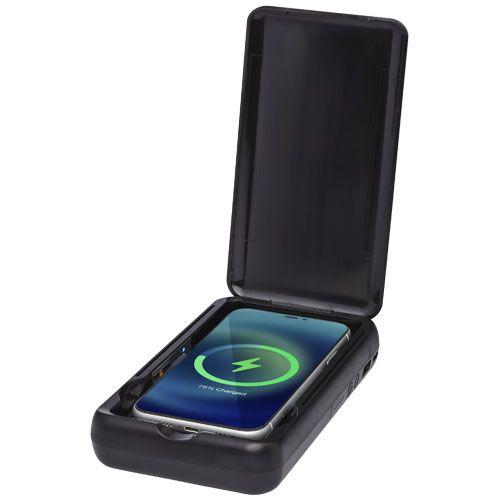 Désinfectant UV Nucleus pour smartphones avec batterie de secours sans fil de 10000mAh