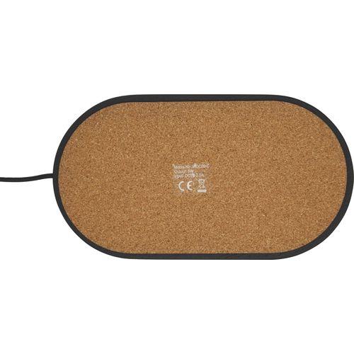 """Organizador de escritorio con base de carga inalámbrica de 5W """"Klip""""  Regalos Promocionales personalizados para Empresas"""