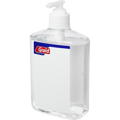 Grand flacon de gel désinfectant Be Safe, 500ml, avec distributeur