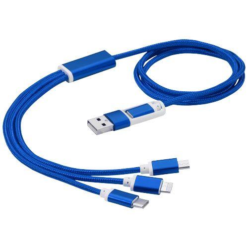 Câble de charge 3-en-1 avec double entrée Versatile