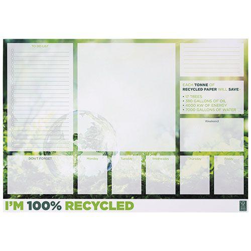 Bloc-notes A2 recyclé Desk-Mate® par 2G Publicité