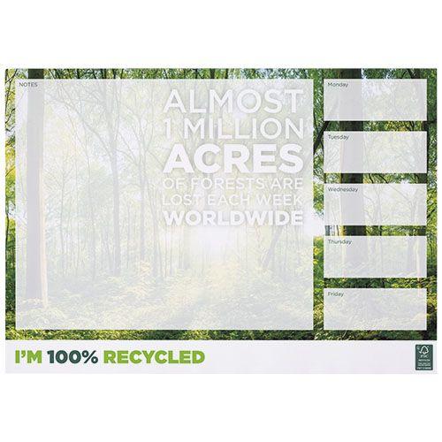 Bloc-notes A3 recyclé Desk-Mate® par 2G Publicité