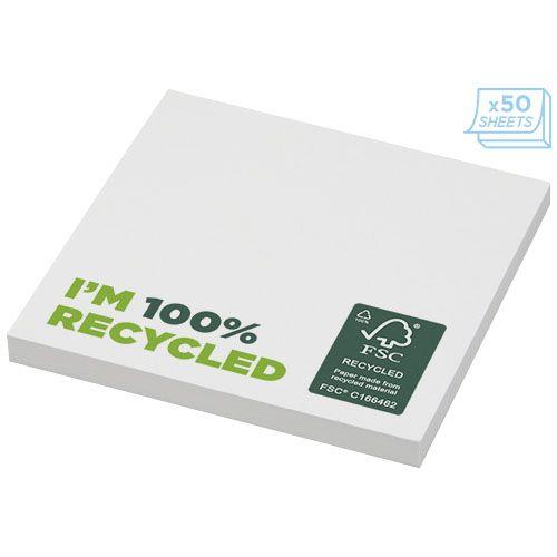 Notes autocollantes recyclées 75x75mm Sticky-Mate® par EG Diffusion 07210 BAIX Objets publicitaires et Cadeaux d'affaires Textile, PLV, Goodies, vêtement de travail, objets éco et durables , stylos , USB, multimédia