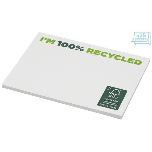 Notes autocollantes recyclées 100x75mm Sticky-Mate® par EG Diffusion 07210 BAIX Objets publicitaires et Cadeaux d'affaires Textile, PLV, Goodies, vêtement de travail, objets éco et durables , stylos , USB, multimédia