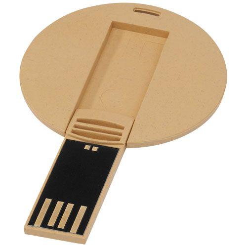 Clé USB biodégradable ronde