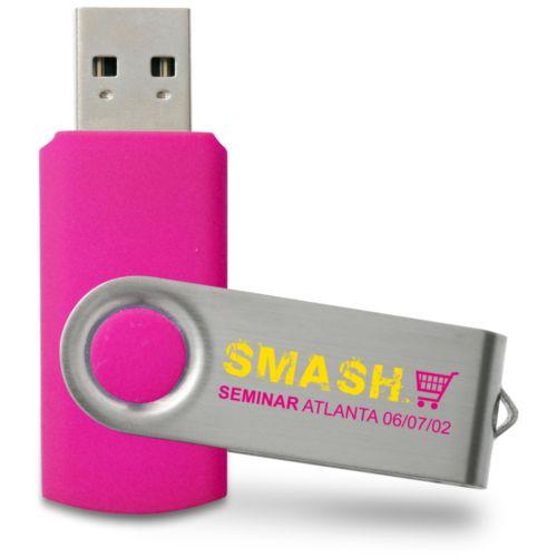Clé USB Swivel 16 GB Rose PMS226