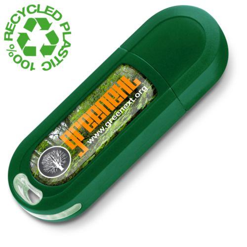 Clé USB Eco2 1 GB Vert PMS342