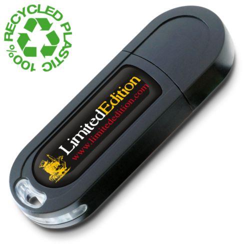 Clé USB Eco2 2 GB Noire