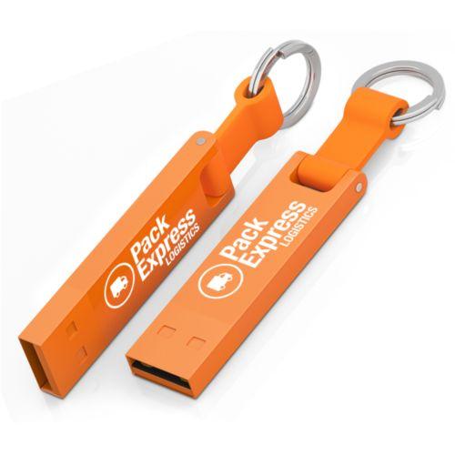 Clé USB Iron Elegance C 16 GB Orange PMS164