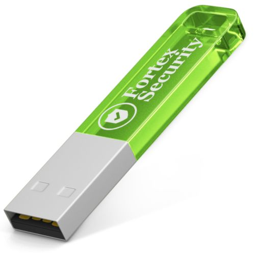 Clé USB Iron Candy 2 GB Vert