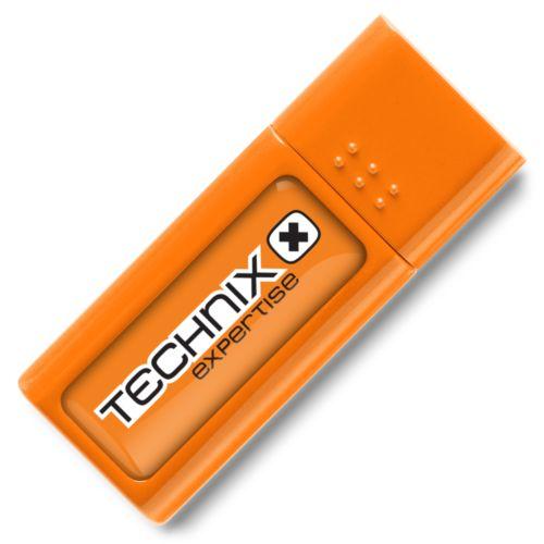 Clé USB Eco 1 GB Orange PMS151