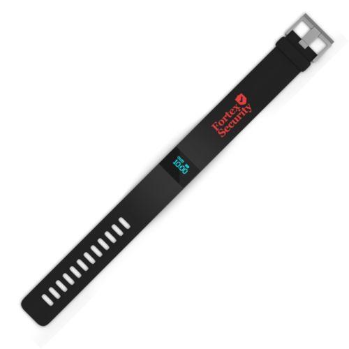 Bracelet connecté noir