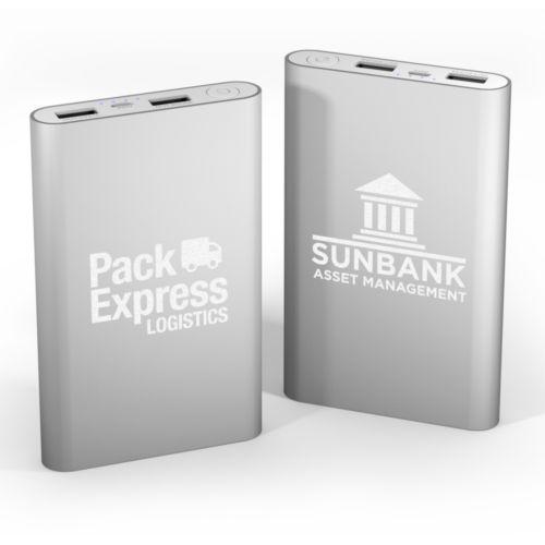 Power Bank Slim 8000 mAh Aluminium