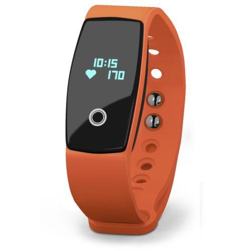 Bracelet connecté Cardio Color Orange