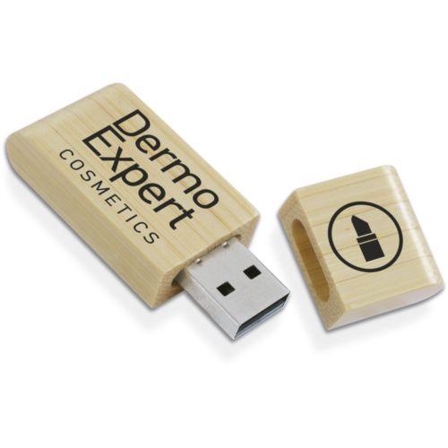 Clé USB 16 GB Bamboo Natura