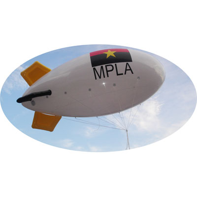 Dirigeable Helium 4m objet publicitaire original