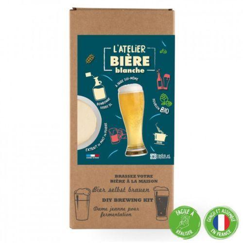 Coffret Brassage biere blanche 5L Extrait de malt à diluer