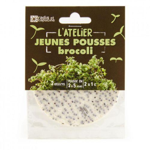 Tapis jeunes pousses brocoli Bio
