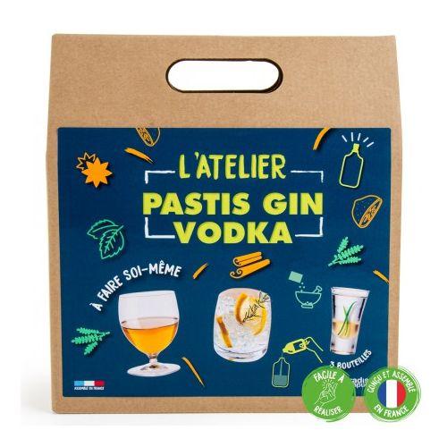 L'Atelier Pastis, Gin et Vodka