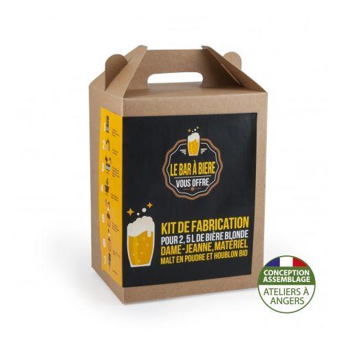 Coffret brassage Bière blonde 3L