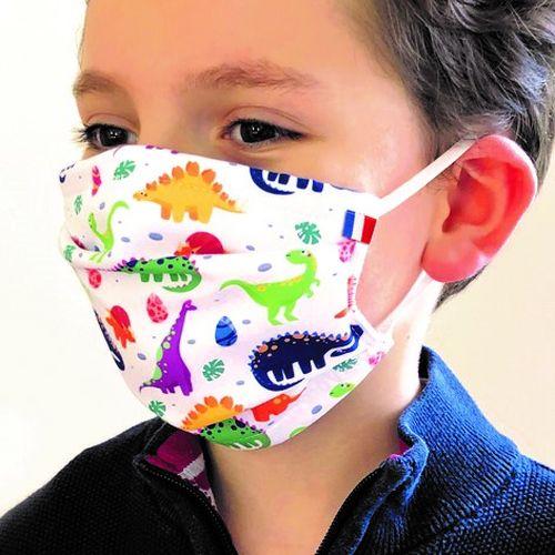 Masque enfant - Dessin All-Over
