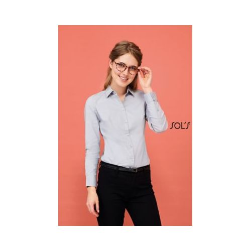 CHEMISE FEMME STRETCH MANCHES LONGUES BLAKE WOMEN