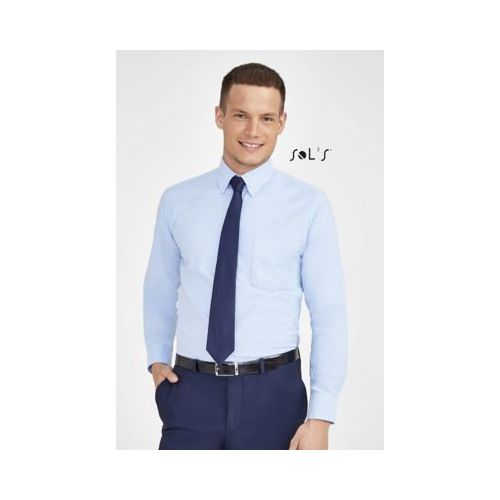 CHEMISE HOMME OXFORD MANCHES LONGUES BOSTON