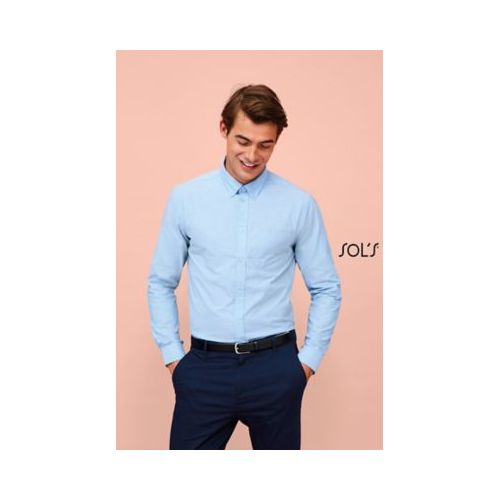 CHEMISE HOMME OXFORD MANCHES LONGUES BOSTON FIT