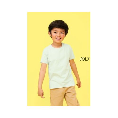 TEE-SHIRT ENFANT COL ROND MARTIN KIDS