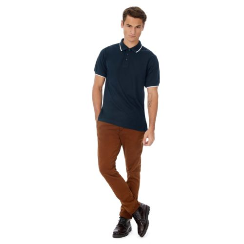Safran sport polo shirt