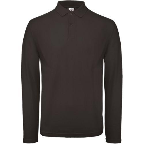 ID.001 Men's long-sleeved polo shirt