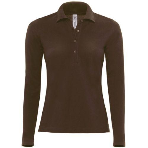 Safran ladies' long-sleeved polo shirt