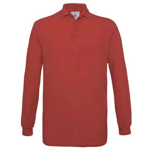 Safran Men's long-sleeved polo shirt