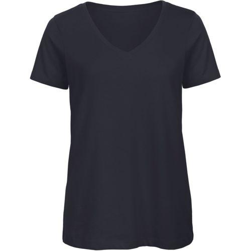 Ladies' Organic Cotton V-neck T-shirt