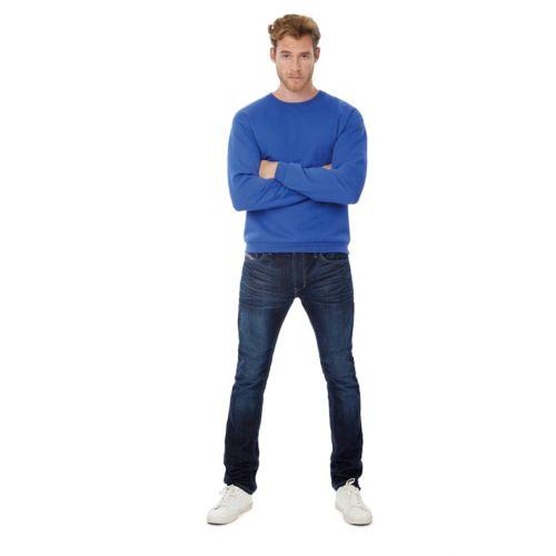 Sweatshirt col rond ID.202 par EG Diffusion 07210 BAIX Objets publicitaires et Cadeaux d'affaires Textile, PLV, Goodies, vêtement de travail, objets éco et durables , stylos , USB, multimédia