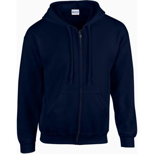 Heavy Blend™ Men's Full Zip Hooded Sweatshirt