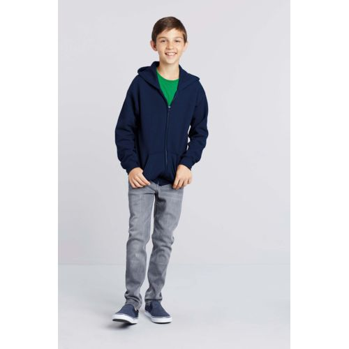 Kids' Heavy Blend™ Full Zip Hooded Sweatshirt