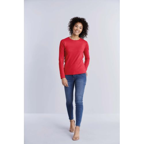 T-SHIRT FEMME MANCHES LONGUES SOFTSTYLE