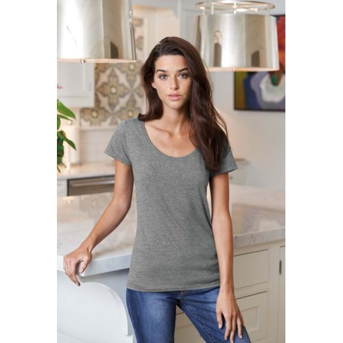 Scoop Neck Ladies' T-Shirt