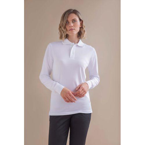 Men's Coolplus® Long-Sleeved Polo Shirt
