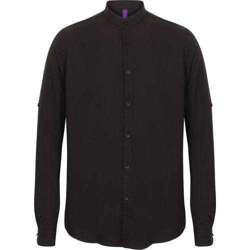 Men's Mandarin Shirt