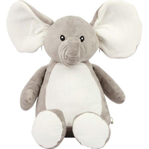 Peluche zippée Éléphant
