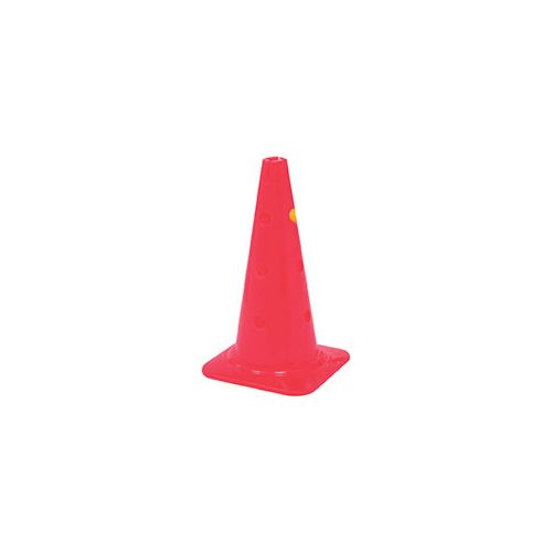 Training cone with holes