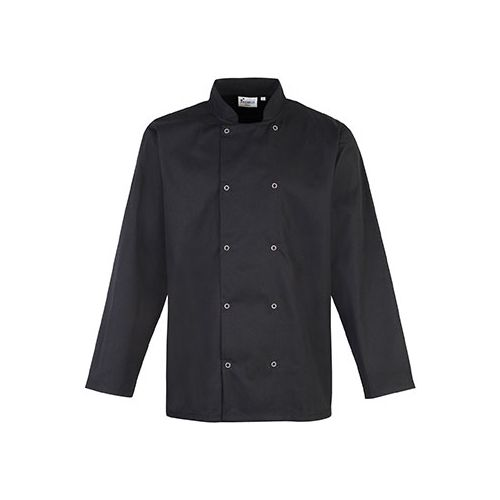 Long-Sleeved Press StudChef's Jacket